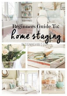 Check this beginner's guide to home staging.  #homestaging #beginnersguide