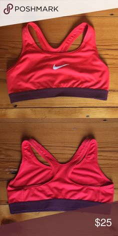 11ca57ef07 Spotted while shopping on Poshmark  NIKE sports bra  25 or best offer!   poshmark