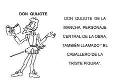 """EN LA ESCUELA CABEN TOD@S: LIBRITO: LOS PERSONAJES DE """"Don Quijote de la Mancha"""""""