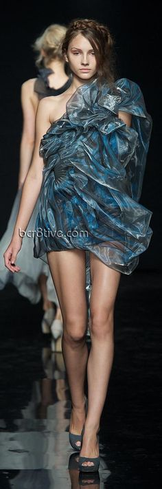 Yiqing Yin – Fall Winter 2012 Paris Fashion Week
