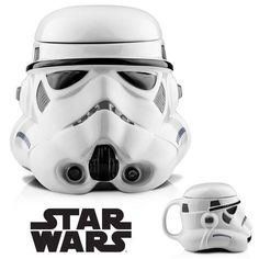 Darth Vader or Stormtrooper Star Wars 3D Mug Cup Black / White Mug