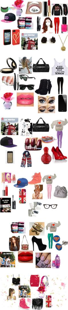 """""""one direction infection"""" by mile-martinezswag ❤ liked on Polyvore"""
