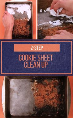 This easy hack removes burnt-on food for perfectly-baked holiday cookies every time.