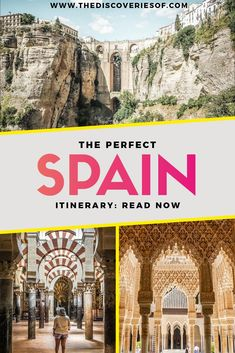 Spain Travel Itinerary: a must read for anyone visiting Spain! Unmissable places to visit in Spain including Madrid, Seville, Granada, Malaga and Cordoba. A step-by-step guide. Read now. #traveltips #travel #spain #europetravel