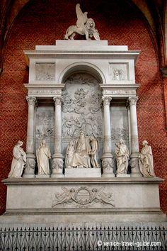 Basilica dei Frari Monument to Titian , Basilica dei Frari, Venice