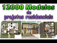 12000 Modelos de Projetos Residenciais, Com áreas variáveis de conforme o local disponível, separados por categorias, estilos e diferentes níveis de orçamento. Veja em detalhes no site http://www.mpsnet.net/loja/index.asp?loja=1&link=VerProduto&Produto=383 #cursos via @mpsnet