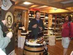 Cam from Eight Degrees at Wine Centre Tasting