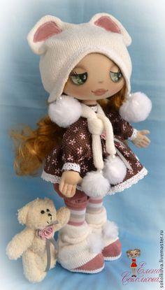 Полный мастер-класс по созданию куклы Катеньки + выкройки - мастер-класс