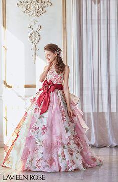ラビアンローゼ No.46-0058 ウエディングドレス 結婚式