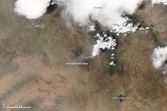 photos of the yanell, az. fire | Satellite Images: Yarnell Hill Fire Arizona | thesurvivalplaceblog