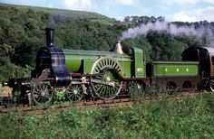 Stirling Single locomotive of the Great Northern Railway. Intended for fast passenger trains By Train, Train Tracks, Great Northern Railroad, The Great Train Robbery, Rail Transport, Steam Railway, Railway Museum, Old Trains, Train Pictures