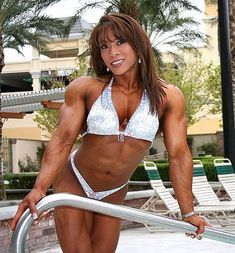 Brenda Raganot - Asian Female Bodybuilder #fitness
