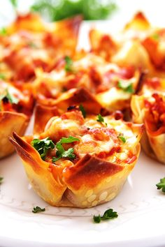 Lasagna Cups | Fitness Food Diva