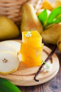 Homemade Pear vanilla marmalade
