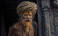 Scarica sfondi maschio, ascetic, india, yogi, sadhu
