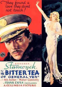 Film Noir Poster - The Bitter Tea of General Yen, 1933.
