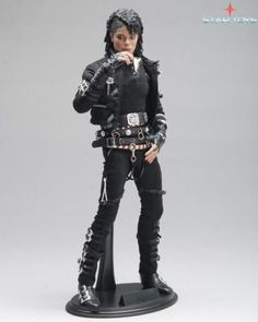 In stock 1/6 BAD Michael Jackson Action Figure With Movable Eye Collection Model Toy