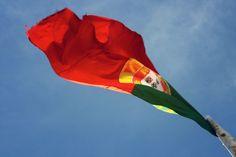 #Flag #CastelloSaoGeorge Postcards from Lisbon | postcardsfromanywhere