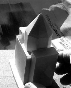 TEATRO DEL MONDO bi Aldo Rossi scale model 1:200