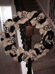 Initial wreath gift