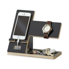Studio 3B™ Cell Phone and Accessory Stand in Black - BedBathandBeyond.com