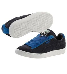 Chaussure Suede Classic, new navy-puma royal