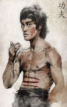 Bruce lee by chris dibenedetto. Bruce Lee Poster, Arte Bruce Lee, Bruce Lee Pictures, Eminem, Bruce Lee Martial Arts, Kung Fu Movies, Legendary Dragons, Jeet Kune Do, Mileena