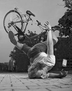 chute de vélo - Fall bike - funny