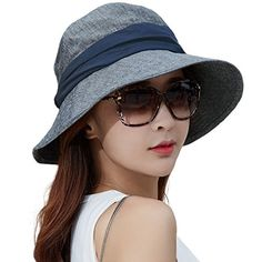 98b58b29 Siggi Ladies Bucket Summer Sun Hat Foldable Wide Brim Packable Bowknot for  Women Beige: Amazon.co.uk: Clothing