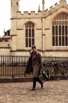 OXFORD LANDING FOR GQ JAPAN | Man of the Cloth