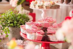 Mini Cake Favor Tins from a Girly Little Farm Birthday Party via Kara's Party Ideas | KarasPartyIdeas.com (21)