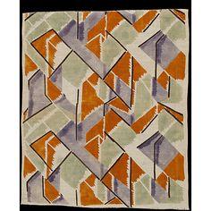 Furnishing fabric by Vanessa Bell, 1913