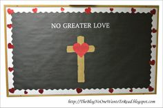Church Bulletin Board for Valentine's Day or anytime - Cricut New Testament, Silhouette Cameo Print and Cut