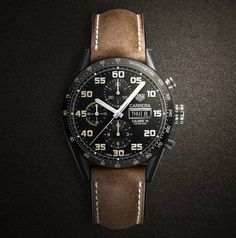 TAG Heuer Carrera Calibre 16 Day-Date Chrono Black titanium