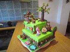 Masha and Bear by littleV | Cake Decorating Ideas