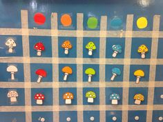 Matrix paddenstoelen Fall Preschool, Preschool Literacy, Teaching Math, Kindergarten, Fall Crafts, Diy And Crafts, Crafts For Kids, Math Activities For Kids, Coding For Kids