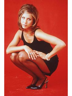 "Jennifer Aniston- publicity shot for tv series ""friends"" in 1996."