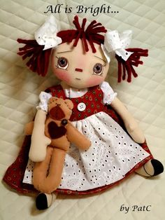 Hello friends! Just checking in with my latest doll. Her name is Mandy and she comes with...