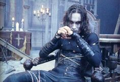 Brandon Lee in The Crow - my favorite movie RIP