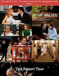 90's children will remember this movie fondly...The Parent Trap!! I STILL love watching this one!!