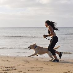 #actijoy #exercisewithdog #doglovers #beachexcersize