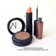 Nude and glitter. www.makeupstorespain.es