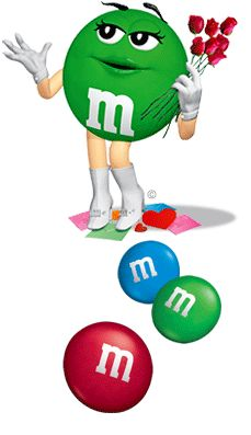 miss m & m gives every a reason to be round and round.  If only we all looked this good!!