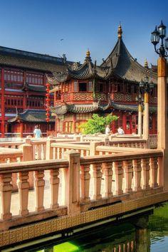 Tea Palace, Shanghai, China  http://www.travelandtransitions.com/destinations/destination-advice/asia/shanghai-china-shanghai-expo-the-bund-yu-garden-and-beyond/