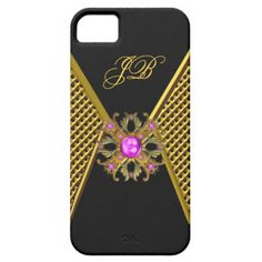 iPhone 5 Case-Mate Case Pink Gold Black