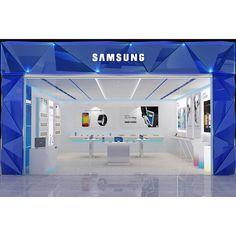 Counter Display, Wood Display, Mobile Shop Design, Mobile Phone Shops, House Outside Design, Led Shop Lights, Pharmacy Design, Electronic Shop, Exhibition Booth Design