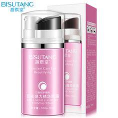 BISUTANG Hyaluronic Acid Eye Day Creams Moisturizers Whitening Anti Puffiness Dark Circle Ageless Night Eye Cream   Price: 2.60 USD