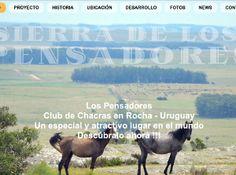 Sitio Web www.sierradelospensadores.com Nature, Travel, The Thinker, Uruguay, Naturaleza, Viajes, Traveling, Natural, Tourism