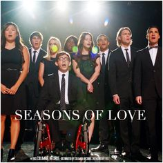 5x03 The Quarterback | Seasons of Love Alternative Cover