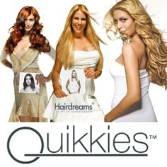 """What are Hairdreams Quikkies Tape Extensions Dallas?"" you might ask. Don't let the name fool you. This isn't something done behind closed doors…  They are however, an amazing tape in hair extension made by Hairdreams. Hairdreams Quikkies Tape Hair Extensions  Dallas are made of 100% remy hair. #dallashairextensions"